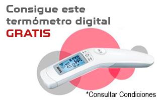 Promoción Plus Ultra: 1 mes de seguro gratis y un termómetro digital Beurer