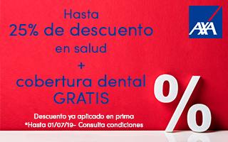 Seguro de Salud con hasta 25% de descuento + Dental Gratis